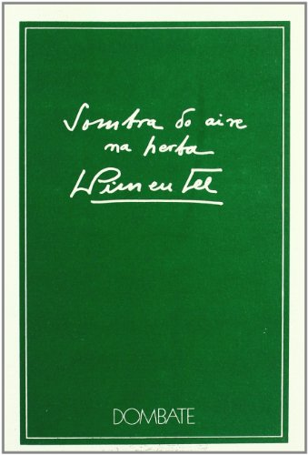9788471543936: Sombra do aire na herba (Dombate (Poesía))