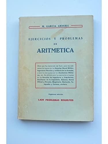 9788471552709: Ejercicios y problemas de aritmetica