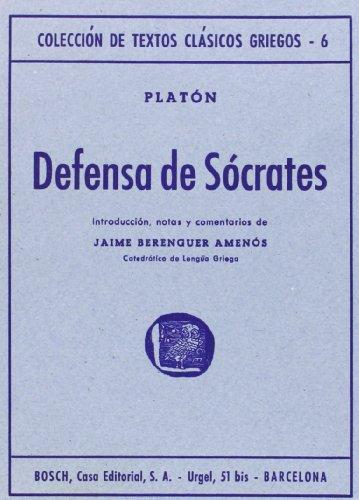 9788471625106: Defensa de Sócrates