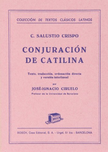 9788471626356: Conjuracion de Catilina