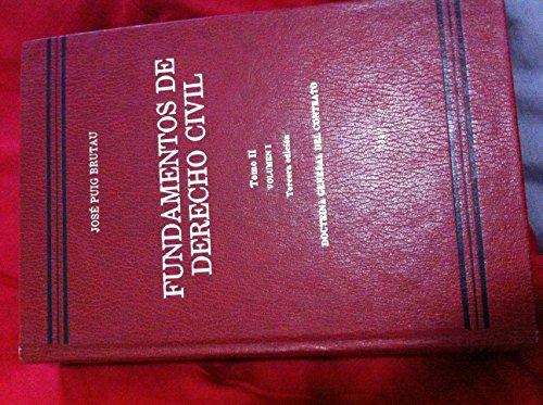 9788471628763: Fundamentos de Derecho Civil: Tomo 2 - Vol. 2. Contratos en particular