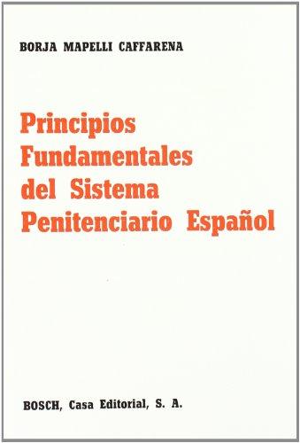 9788471628985: Principios fundamentales del sistema penitenciario espanol (Spanish Edition)