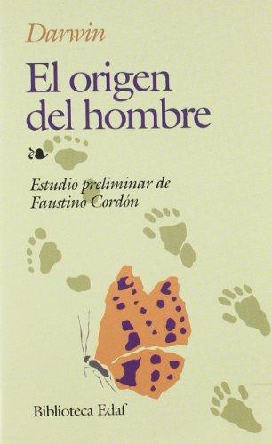 9788471662651: Origen Del Hombre, El (Biblioteca Edaf)
