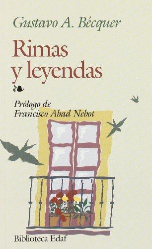 Rimas Y Leyendas (Biblioteca Edaf): Becquer, Gustavo Adolfo
