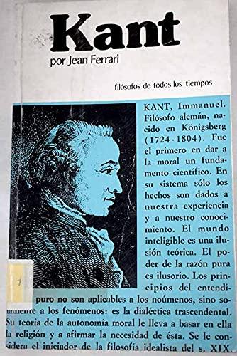 9788471664402: Kant o la invención del hombre.