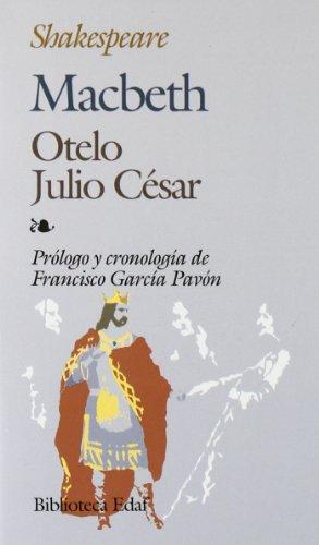 9788471666208: Macabeth, Julio César, Otelo