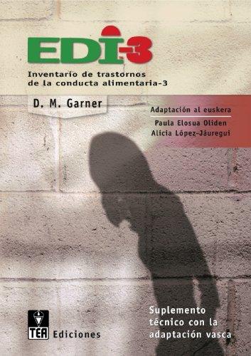 9788471748805: EDI-3, Inventario de trastornos de la conducta alimentaria-3: Suplemento técnico de la adaptación vasca (Publicaciones de psicología aplicada)