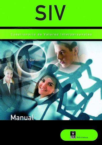 9788471749208: SIV, Cuestionario de valores interpersonales (Publicaciones de psicología aplicada)