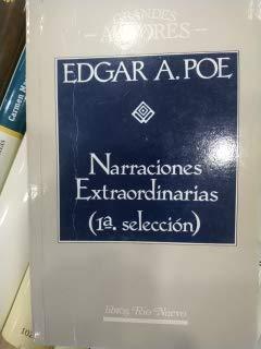 9788471752482: Narraciones Extraordinarias - 1: Seleccion (Spanish Edition)