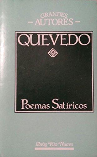 9788471752871: Poemas Satíricos