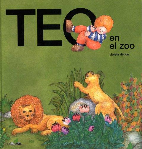 9788471762726: Teo en el zoo (Teo Descubre El Mundo)