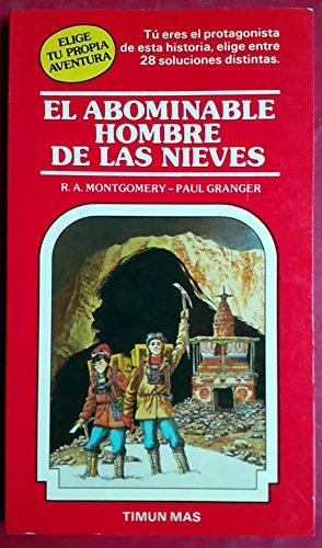 9788471765369: El Abominable Hombre De Las Nieves (Elige Tu Propia Aventura, 4)