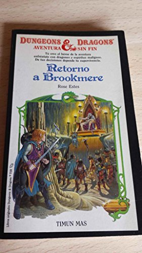 9788471767684: Retorno a brookmere (Dungeons & Dragons Engless Quest Books)