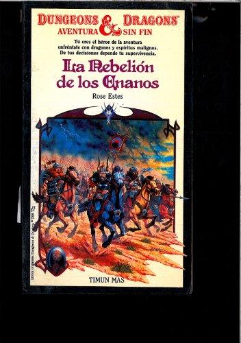 9788471767769: LA Rebelion De Los Enanos (Dungeons and Dragons: Timun Mas)