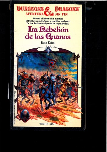 9788471767769: LA Rebelion De Los Enanos (Dungeons and Dragons: Timun Mas) (Spanish Edition)