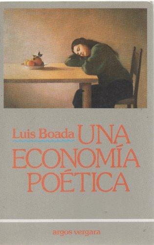 9788471787460: Una Economía Poética