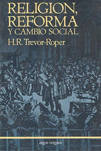 9788471789587: RELIGION, REFORMA Y CAMBIO SOCIAL y otros ensayos
