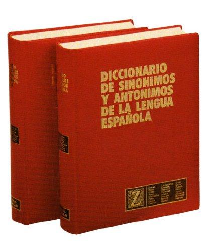 9788471892119: Diccionario de sinónimos y antónimos, 2 tomos Mod. Gb