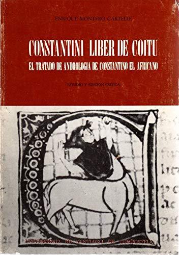 9788471913098: Constantini liber de coitu