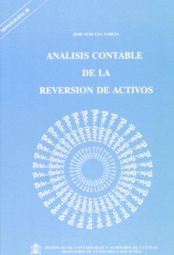 9788471968302: Análisis contable de la reversión de activos