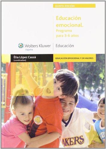 9788471978806: Educacion Emocional. Programa para 3-6 Anos