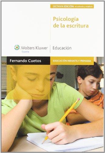 9788471979162: Psicología de la escritura (3.ª edición): diagnóstico y tratamiento de los trastornos de escritura (Educación infantil y primaria) - 9788471979162
