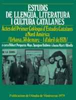 Estudis de llengua, literatura i cultura catalanes: