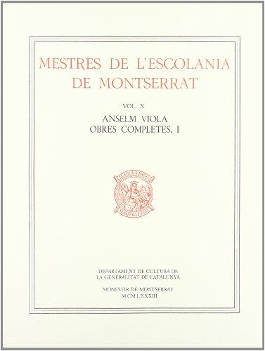 Mestres de l'Escolania de Montserrate. Vol. III.: Joan Cererols