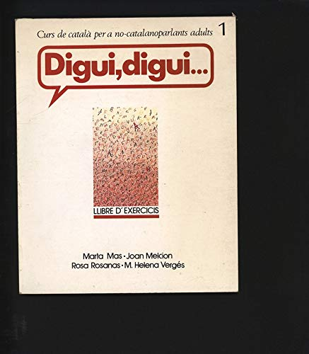 9788472026568: Digui, Digui.... (2 books-one is Exercises)
