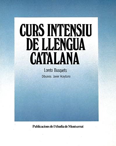 9788472029354: Curs intensiu de llengua catalana (Vària)