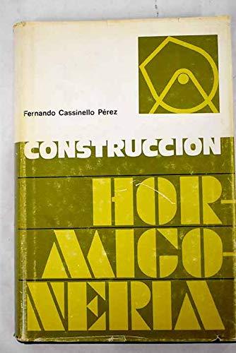 9788472070073: Construcción : hormigonería