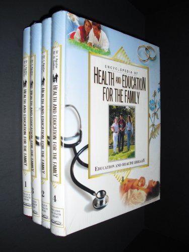 9788472082007: Encyclopedia of Health and Education for the Family 4 Volumes (Education and Health Library)