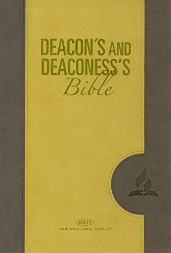 9788472085305: Deacon and Deaconess' Bible (NKJV)-Yellow - AbeBooks