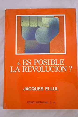 9788472090224: Es posible la revolucion?