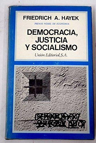 9788472090576: Democracia, justicia y socialismo (2.ª ed.) (Ed. piel)
