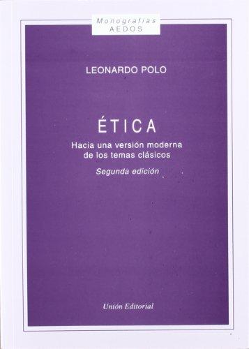 9788472092952: #ETICA HACIA UNA VERSION MODERNA DE LOS TEMAS CLASICOS