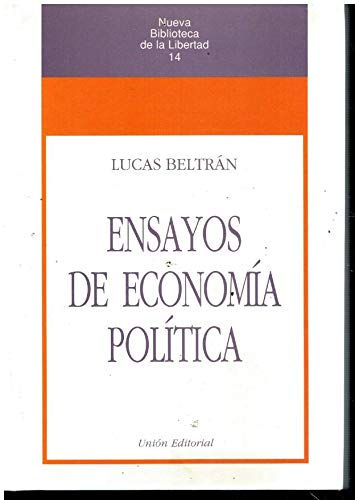 9788472092990: Ensayos de economía política