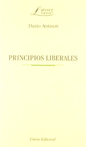 Principios Liberales - Antiseri, Dario