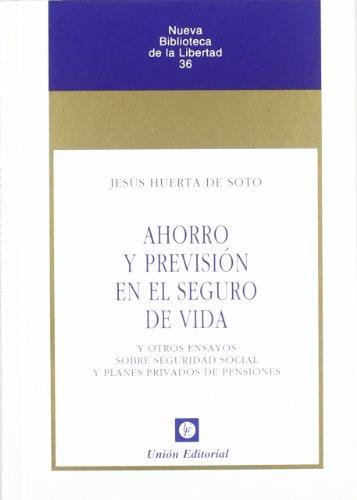 9788472094376: AHORRO Y PREVISION SEGURO DE VIDA