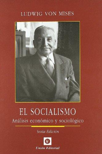 9788472094833: El socialismo : análisis económico y sociológico