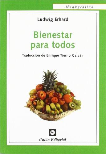 9788472095335: Bienestar Para Todos (Monografías)