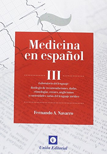 9788472097223: MEDICINA EN ESPAÑOL III