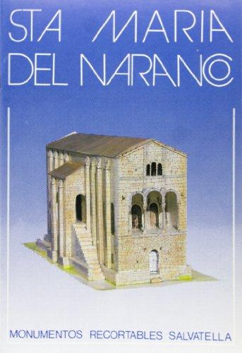 9788472103825: Santa María del Naranco. Monumentos recortables