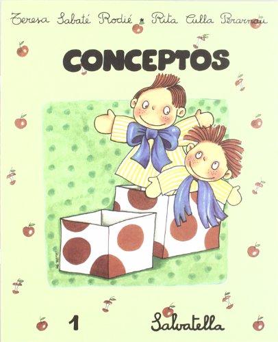 9788472105812: Conceptos 1, Educación Infantil