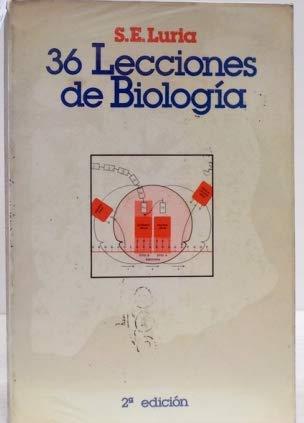 9788472141049: Treinta y seis lecciones de biologia