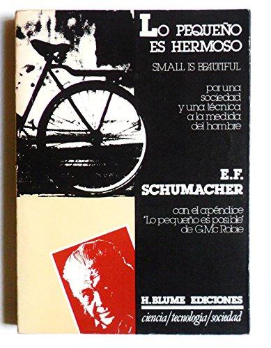 9788472141155: LO PEQUEÑO ES HERMOSO