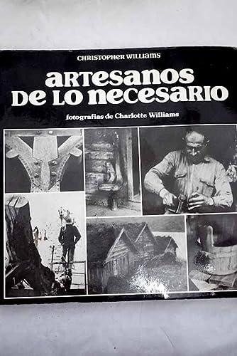 9788472141575: ARTESANOS DE LO NECESARIO