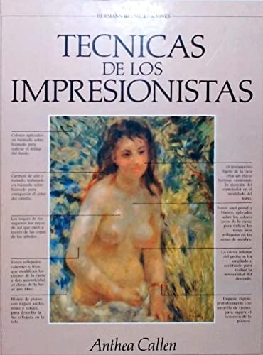 9788472142848: Tecnicas de los impresionistas