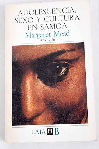 9788472222212: Adolescencia, sexo y cultura en Samoa