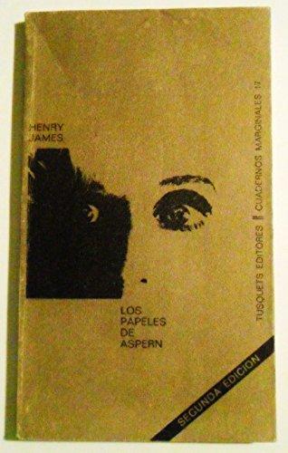 9788472230170: Los papeles de Aspern (Volumen Independiente)